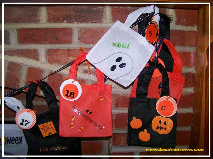 DIY Halloween Countdown Calendar
