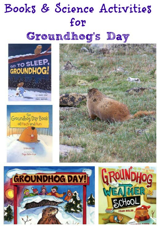 Books & Science Activities for Groundhog's Day