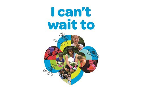 Girl Scouts I Can't Wait campaign