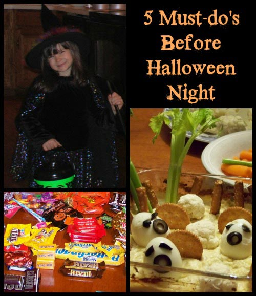Must do's Before Halloween Night
