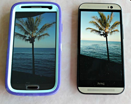 HTC One with Galaxy