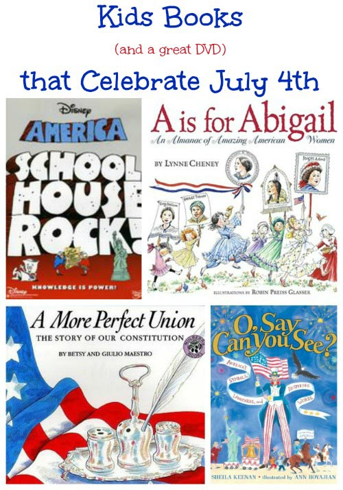 Fun Kids Books & Activities for July 4th