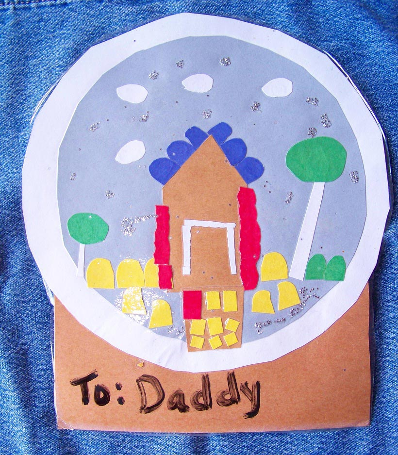 kids-art-work-as-gift-tags