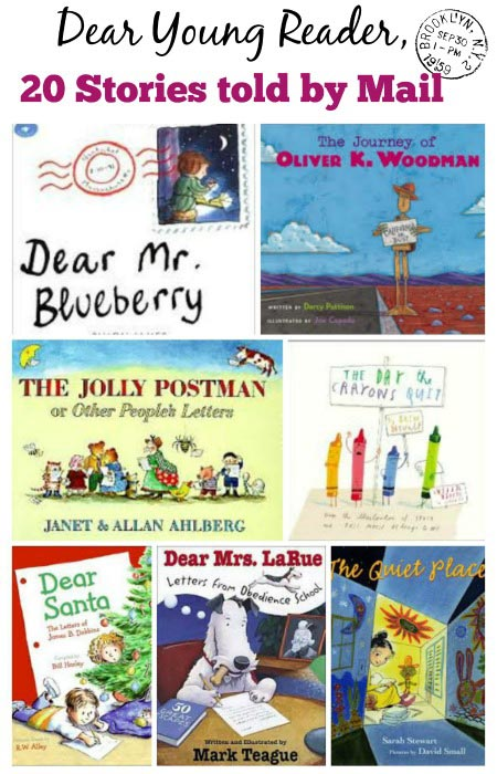 Kids Books told through Letters