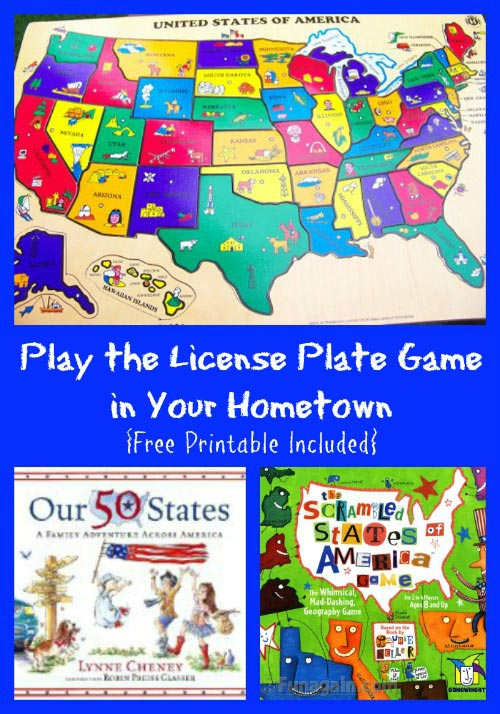Play the License Plate Game in Your Own Town
