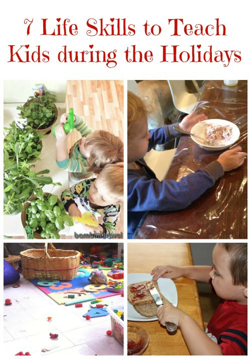 Life Skills that Kids can Learn during the Holidays