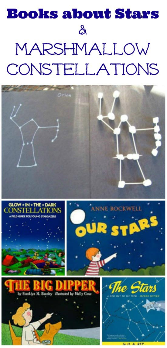 Marshmallow Star Constellations for Kids | Hands-on science activities for the night sky