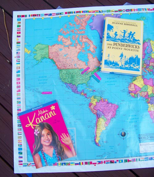 Map Your Summer Reading