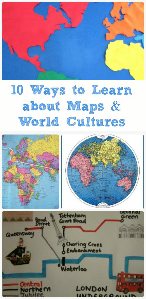 Map Activities for Kids