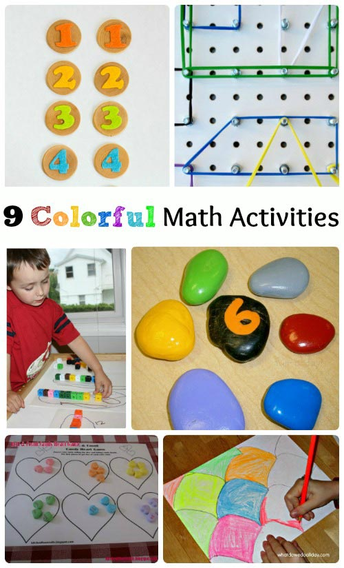Colorful Ways to Learn Math
