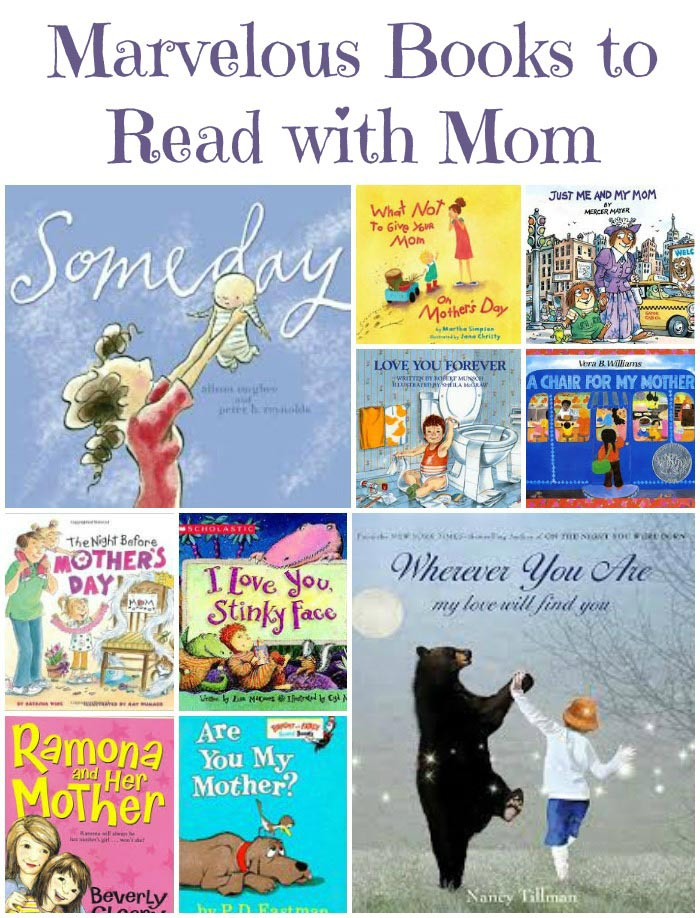 Great Books for Mother's Day