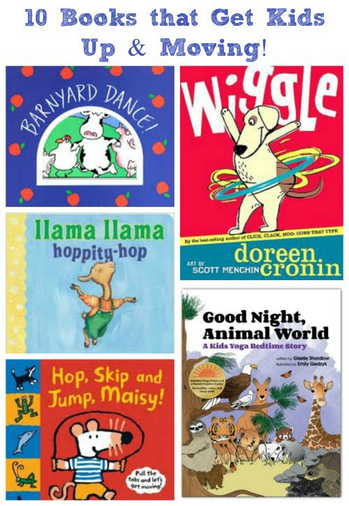 Books that Get Kids Moving