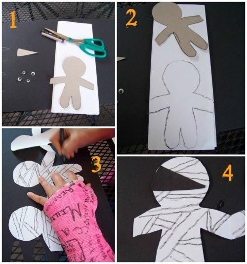 Mummy Craft for Kids