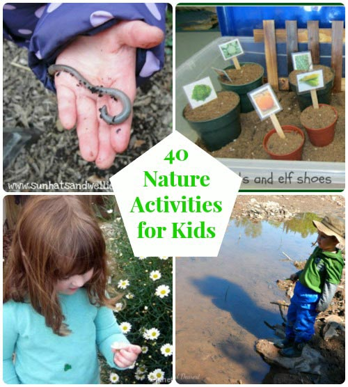 nature activities for spring