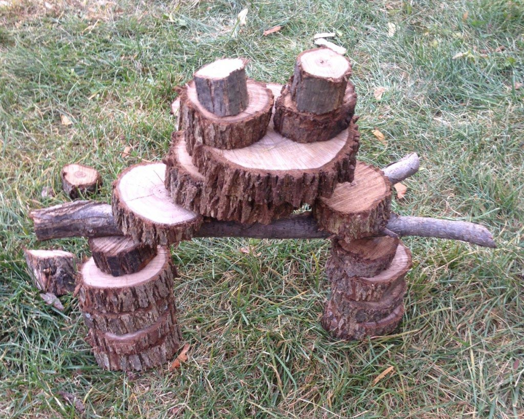Outdoor Nature Crafts for Kids - Edventures with Kids