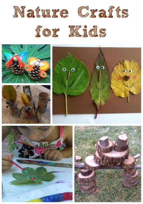 outdoor nature crafts for kids edventures with kids