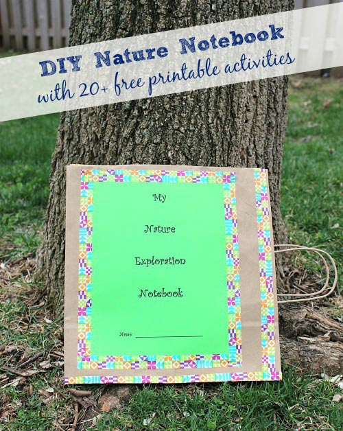 DIY Nature Notebook
