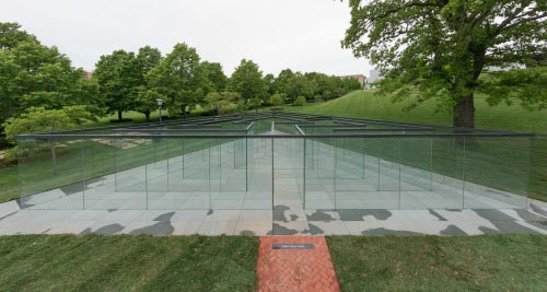 New at the Nelson-Atkins: Glass Labyrinth