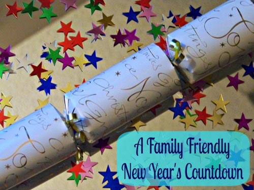 New Years Eve countdown activities for kids and families at home