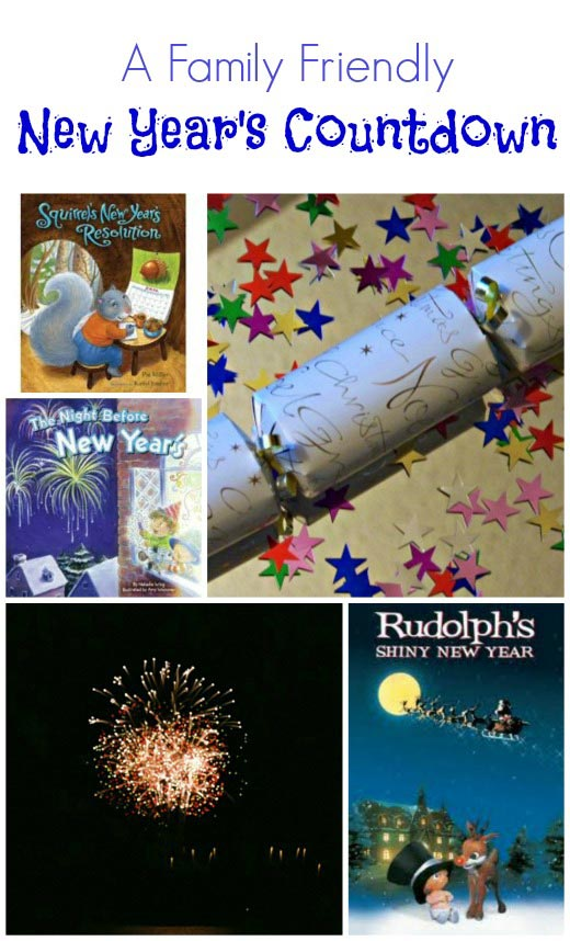 New Years Eve Countdown for kids