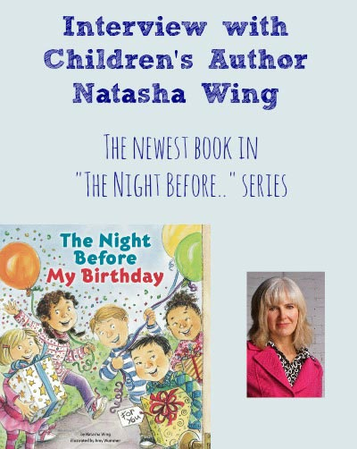 Natasha Wing interview & Birthday Giveaway