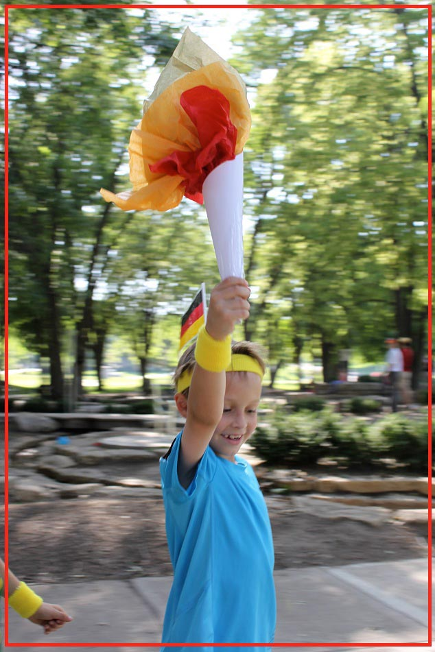 Make an Olympic torch for kids to use