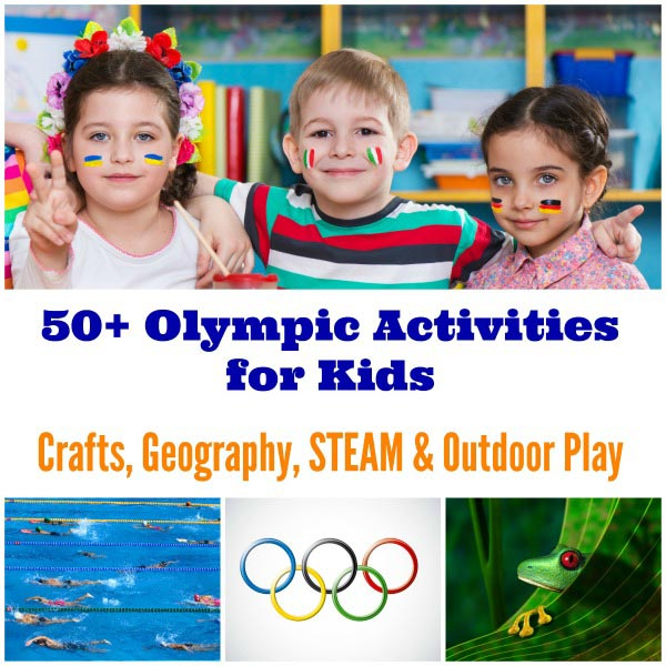 olympics for kids crafts