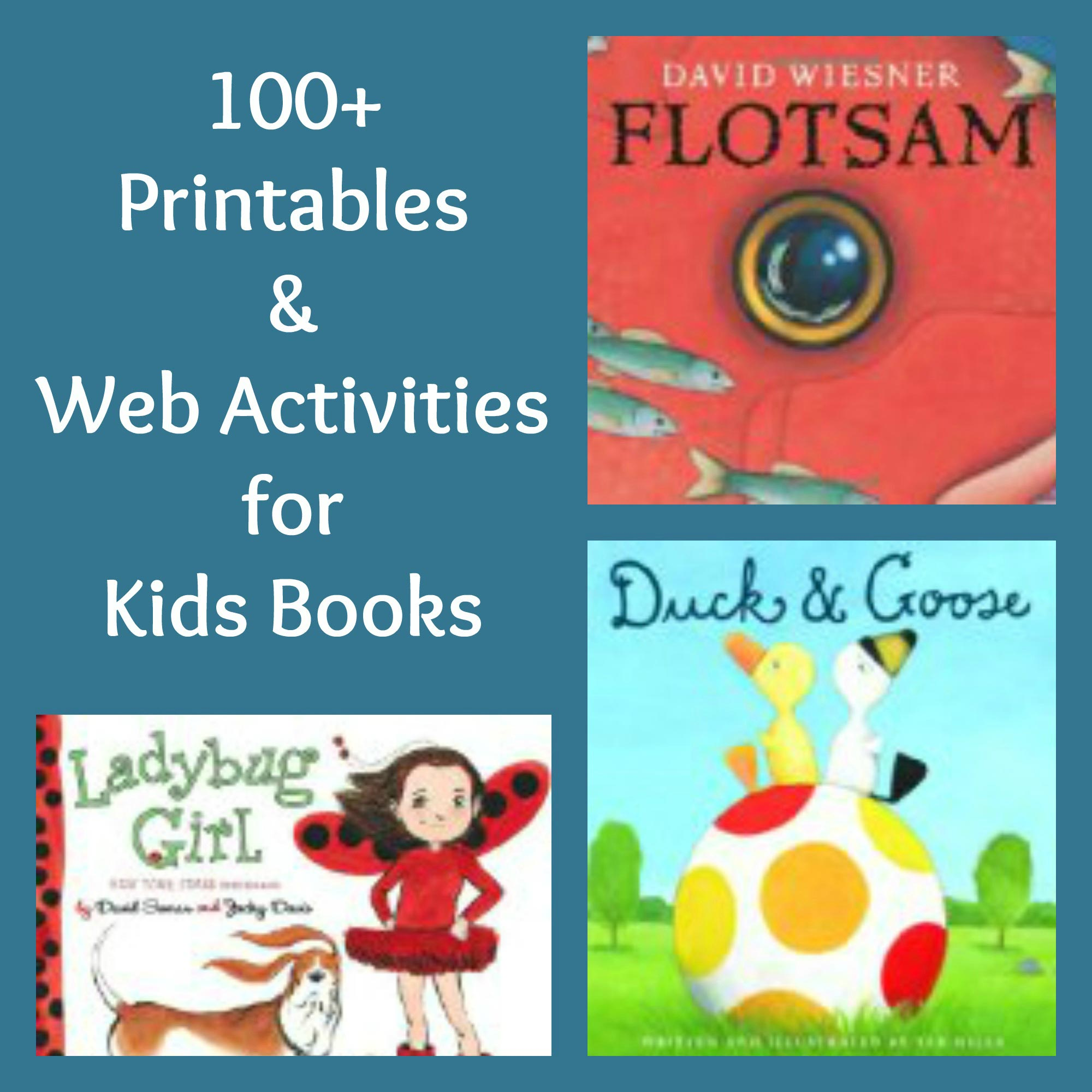 Online Activities for Read Aloud Books