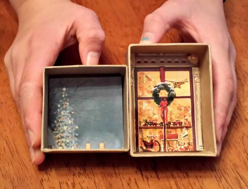 Recycle Old Cards for Christmas Ornaments