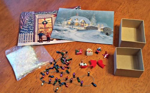 Supplies for Handmade Vintage Ornaments