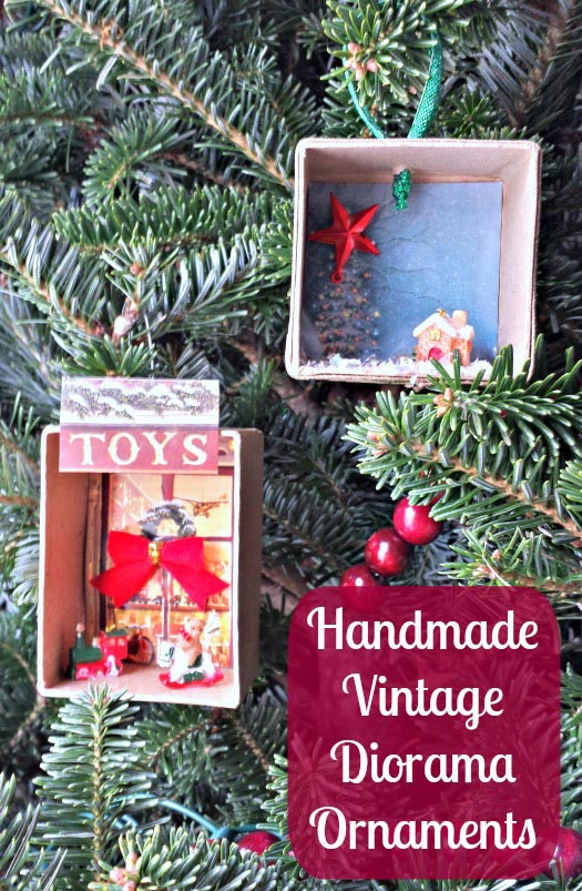 Create a Vintage Diorama Ornament