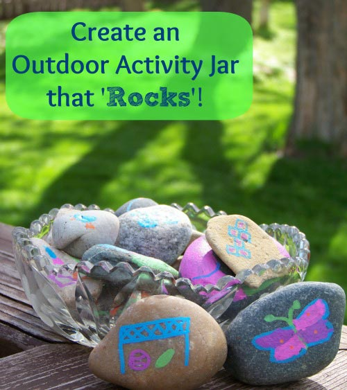 Outdoor Activity Jar for Kids
