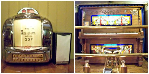 player piano and juke box Patee House