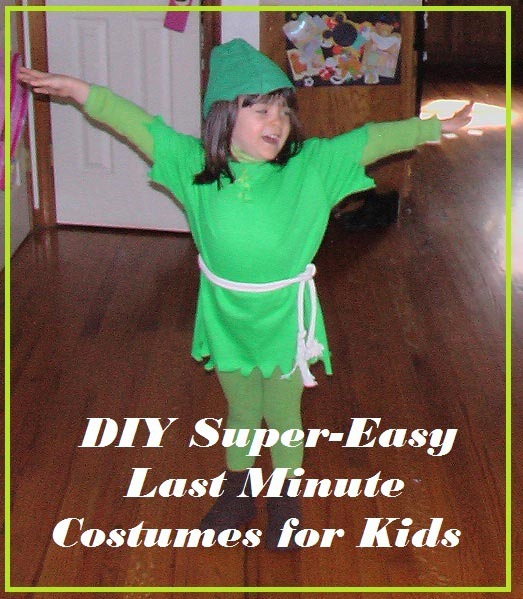 Super Easy DIY Halloween Costumes