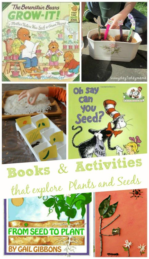 Books and Activities about Plants & Seeds