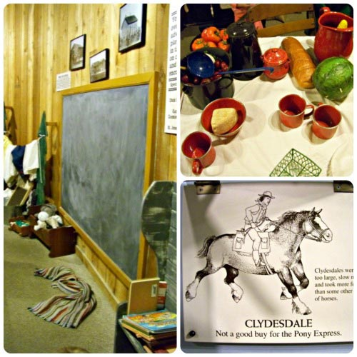 Kids Area at Pony Express Museum
