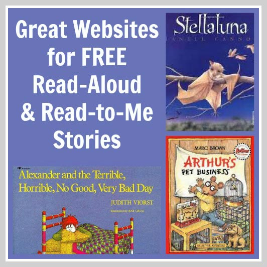 free read aloud books for kids online