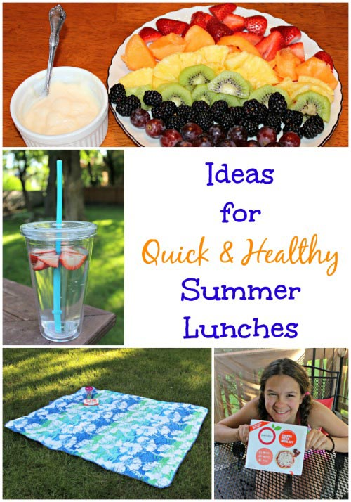 Quick & Healthy Summer Lunches
