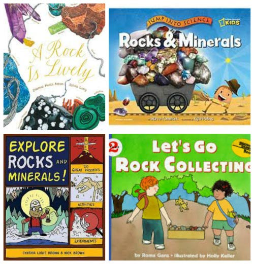 Kids books about rocks