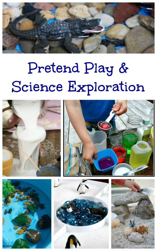 Discovering Science thru Pretend Play