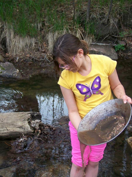 Panning for Gold Black Hills