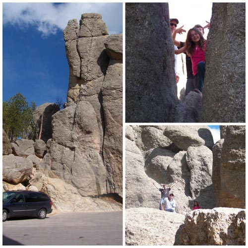Rock Climbing at Custer State Park