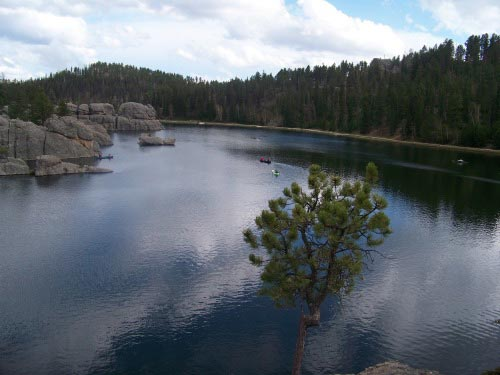 Sylvan Lake Custer Park