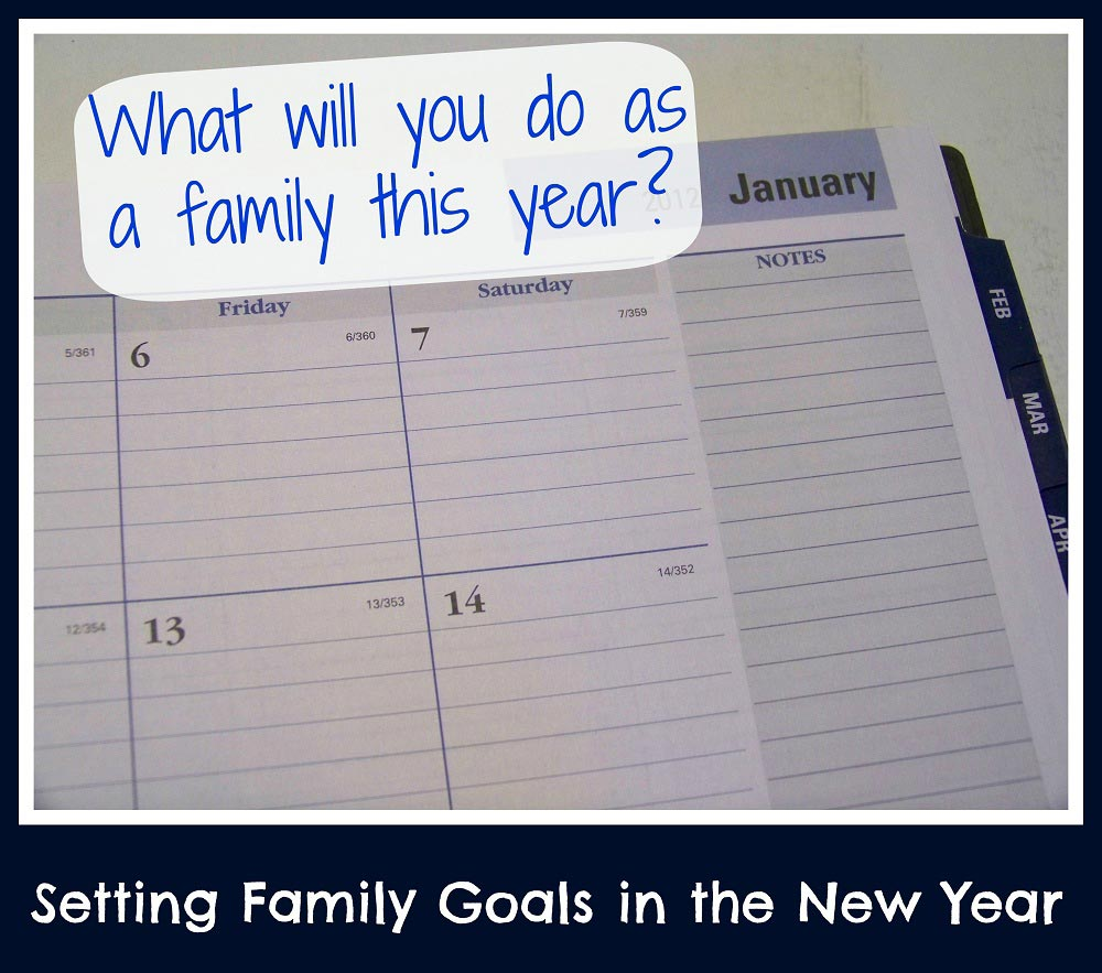 New Years Goals for Families