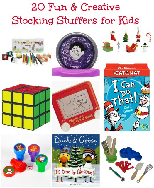 20 Great Stocking Stuffers for Kids