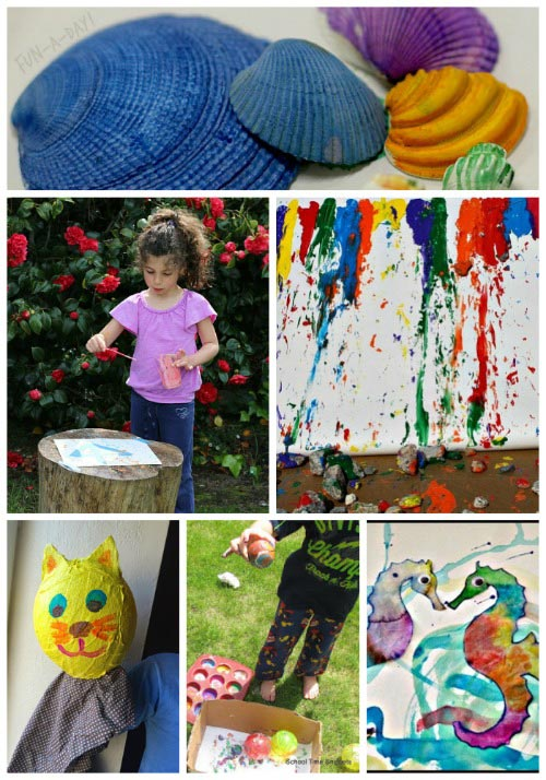 Get creative this summer with fun art projects