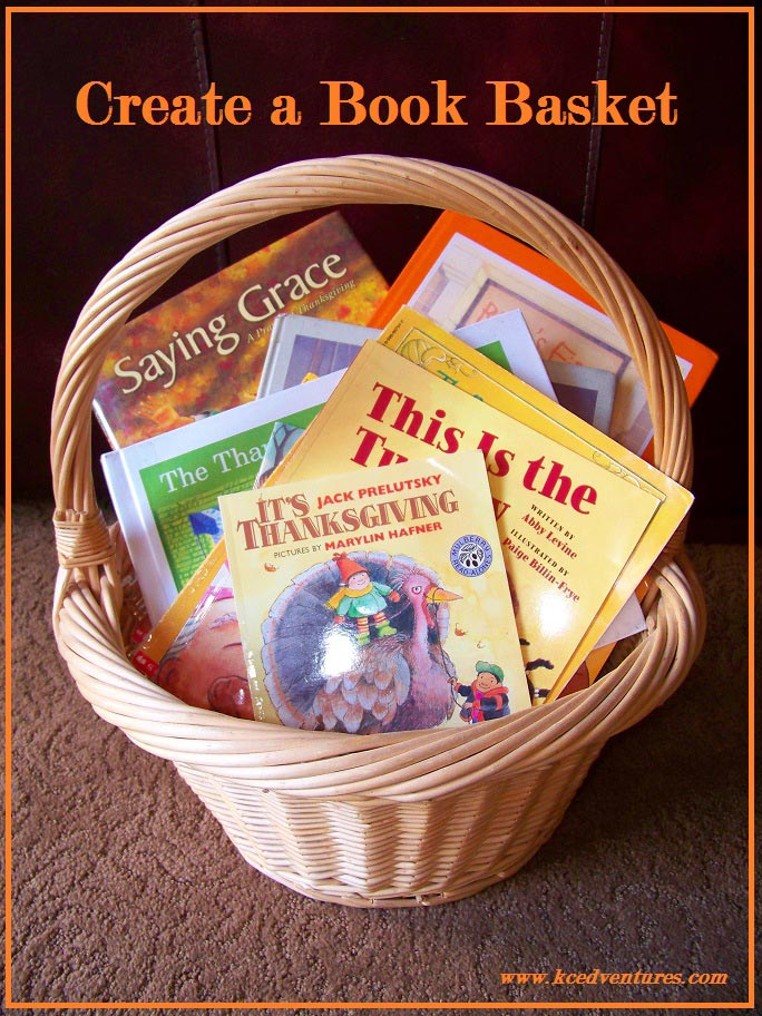 Thanksgiving Book Basket