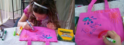 DIY Kids Travel Bag for Souvenirs