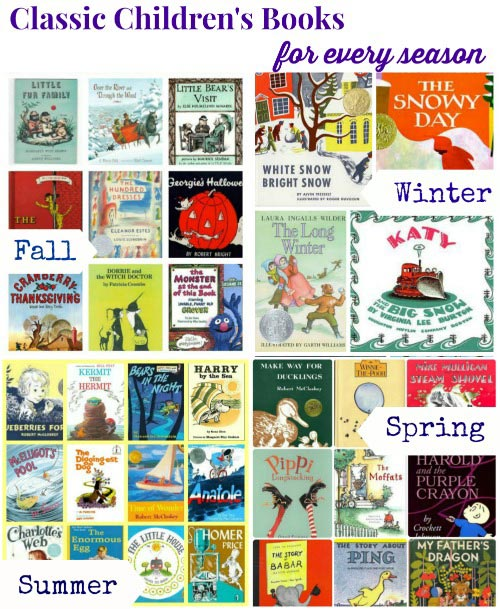 Great Vintage Books and Classic Books for Kids