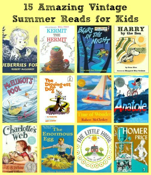 15 Vintage Summer Books for Kids